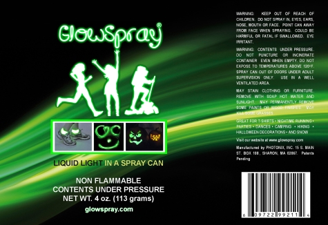 Microsoft Word - GlowSpray Label 06 21 10.doc